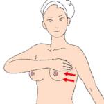 4.縦横に格子状に手を動かす